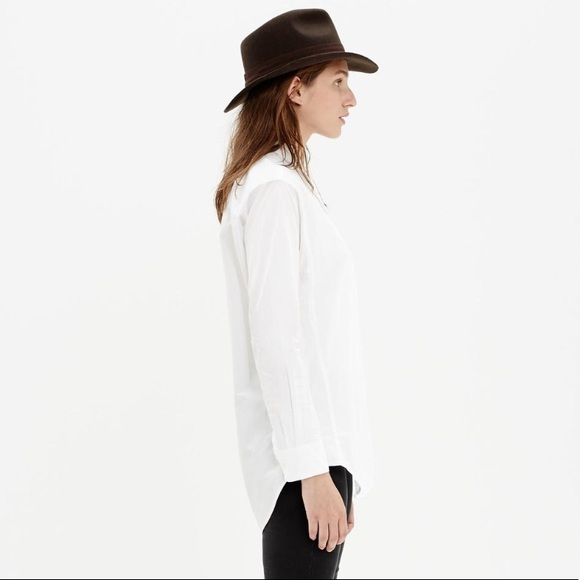 9f02b31ef Madewell Tops - Madewell white cotton oversized button down shirt